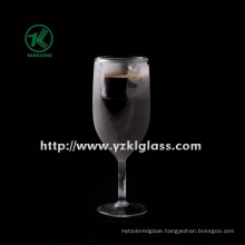Ice Double Wall Beer Glass by SGS, (let beer cold)