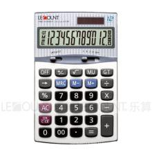 Calculateur de bureau Dual Power de 12 chiffres avec fonctions Gt et Mu (CA1196)