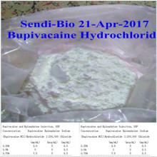 Chlorhydrate de bupivacaïne / HCl USP pour anesthésie locale CAS. N °: 14252-80-3