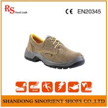 Shos Itália de segurança de couro de camurça / sapatos de segurança industrial para homens