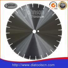 Fraise en béton armé de 400 mm: lame de scie à diamant