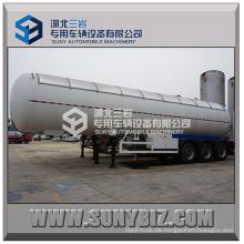 56000L Drei Achsen 12-Rad China LPG Transport Tank Druckbehälter / LPG Transport Tank Semi Trailer / Neue LPG Transport Truck Tanks
