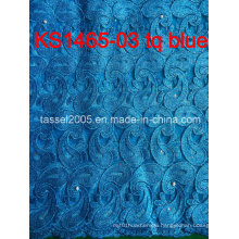 Latest Design African Water Soluble Laceafrican Cord Lace/Guipure Lace Fabric for Women Dress