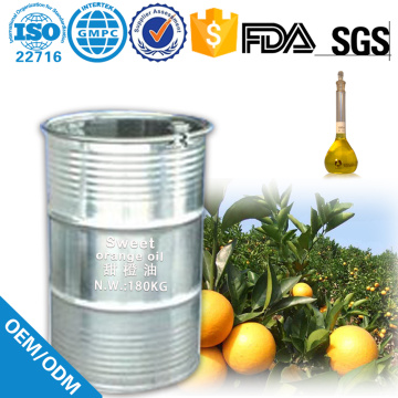 Bulk Price Food Grade Oil Sweet Orange Oil