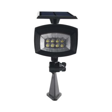 Aluminio regulable Negro 3W CREE LED Spike Light
