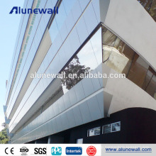 4mm wall cladding materials acm aluminum composite panels with 2 m width