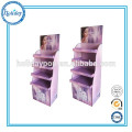 Support cosmétique fait sur commande de support de présentoir de carton