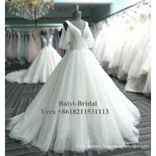 Cheap ivory wedding dress bridal gowns