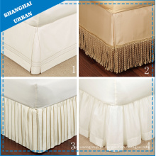 Custom Made Home Textile Hotel Tailored Bedskirt