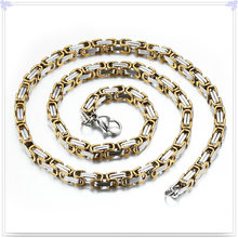 Cadena de acero inoxidable del collar de la manera de la joyería de la manera (SH061)