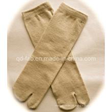 Hemp / algodão orgânico duas meias Toe para o Japão