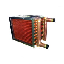 Top quality water to air copper pipe heat exchanger with fan