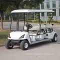Carrinho de golfe elétrico 6 passageiros (DG-C6) com Ce aprovado