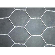 Гексагональной сетки-оцинкованной или с ПВХ-покрытием
