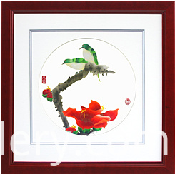 hand embroidery hang picture
