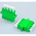 SC / apc Singlemode 9/125 SC adaptador de fibra óptica, baixa perda de inserção adaptador de fibra óptica