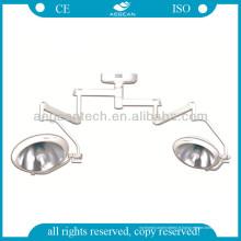 AG-Lt006 avec la lampe chirurgicale durable d'hôpital de deux lampes de support