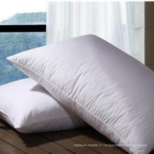 Hot Sale des oreillers en polyester à fibres creuses pour l'hôtel