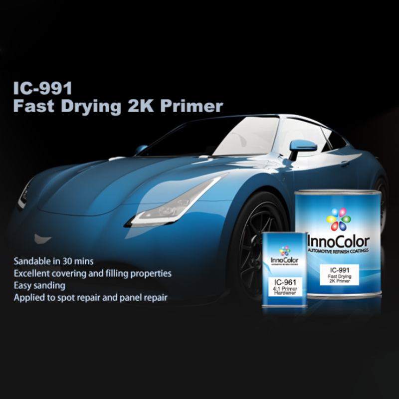 InnoColor 2K Fast-Drying Primer grey