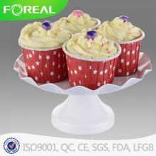 Revestimento de pó 4PCS Metal Cupcake Stand
