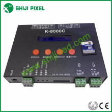 Tarjeta SD led controlador rgb K-8000C para tira led luz de píxel
