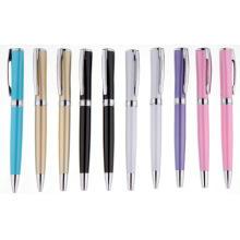 Красочные высокого качества Оптовая гравировка лазерная металлическая шариковая ручка