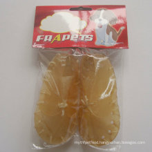 "Dog Chew 5"" Natural Rawhide Shoe Pet Food"