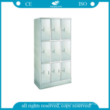 AG-Ss001 Stainless Steel Wardrobe with Nine Units for Changing Clothes