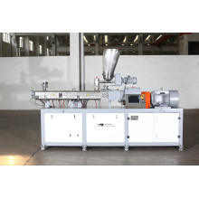 clamshell twin screw extruder for 3D printing materials