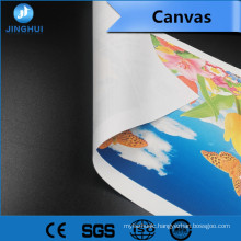 huge promotion 260gsm matt polyester art canvas for Displays