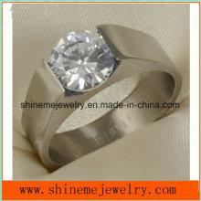 Joyería de la manera de Shineme joyería de alta calidad de titanio anillo (tr1835)