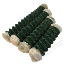 PVC Coated Chain Link Mesh Fence for Gardening