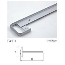 Eloxiertes Aluminium-Schrank-Rahmenprofil