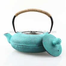 Hot Selling Stainless Steel Infuser Cast Iron Tea Pot With Custom Coating
