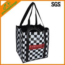 reusable customized nonwoven marketing bottle bag