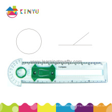 Plastic Geometry Compass for Education in Classroom