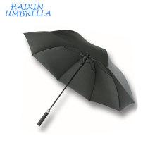 Качество роскошный Небьющиеся длинным китайским производителем Ветрозащитный изготовленный на заказ Выдвиженческий рекламируя зонтик гольфа с ручкой пены