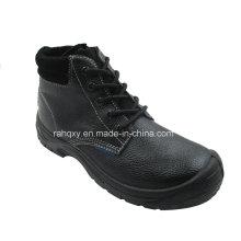 Plein cuir et daim doublure des chaussures de sécurité (HQ03021)