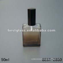square mould perfume glass bottle 50ML