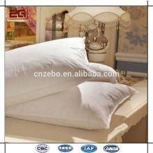 Top Fornecedor em Guangzhou Luxo 90% Goose Down Travesseiros para Hotel Atacado