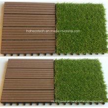 A grama artificial telha o Decking de 30s30-Agt WPC telha a decoração