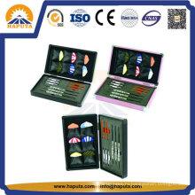Симпатичные алюминиевый корпус игра хранения для Дартс (HS-2002)