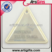 Cheap triangle reflective pvc hanger