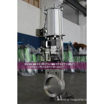 Regulador Pneumático com Válvulas de Portas de Faca Acessórias