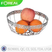 Venda de cesta de frutas de fio de Metal quente