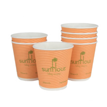food grade ODM custom logo disposable cups recyclable from anhui anqing