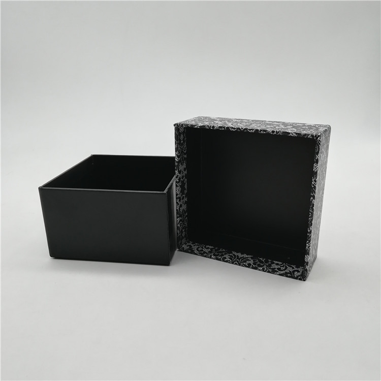 Two Piece Box With Cap Lid