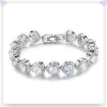 Bracelet en cuivre Accessoires de mode Bijoux en cristal (AB252)