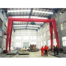 Grue de grue à portique à une seule poutre en Chine 10 tonnes