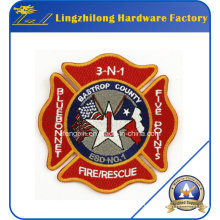 Custom Brand Embroidery Logo Fire Resure Patch